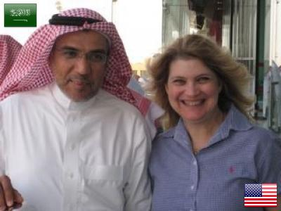 Abdullah from Saudi Arabia and Carol from the United States